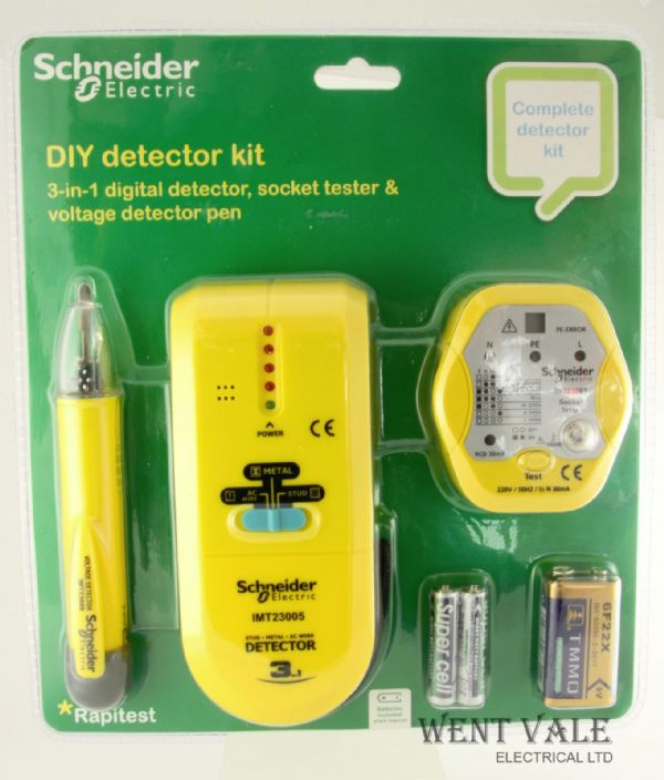 Schneider Electric IMT23010 - Three Piece DIY Detector Kit.